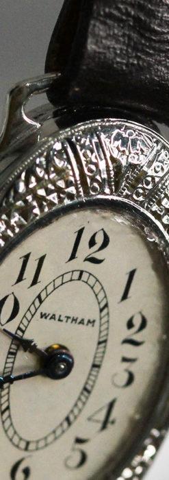 細工の綺麗なウォルサムの婦人物アンティーク腕時計 【1931年製】-W1504-16