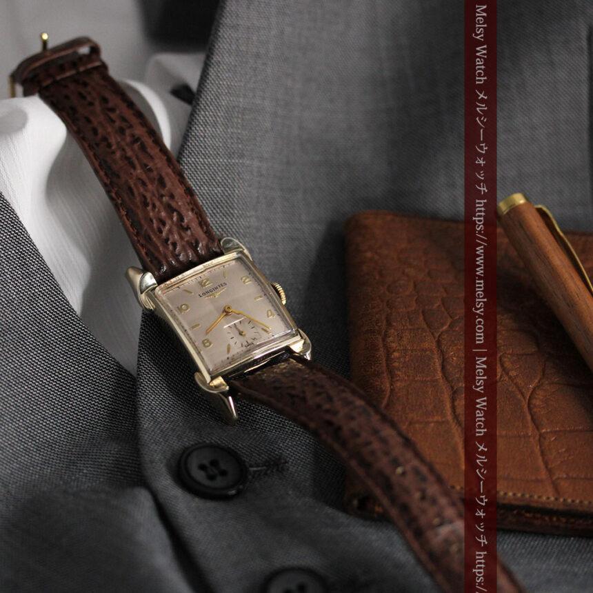 ロンジン 大人の遊び心を擽るアンティーク腕時計 【1952年製】箱付き-W1505-1