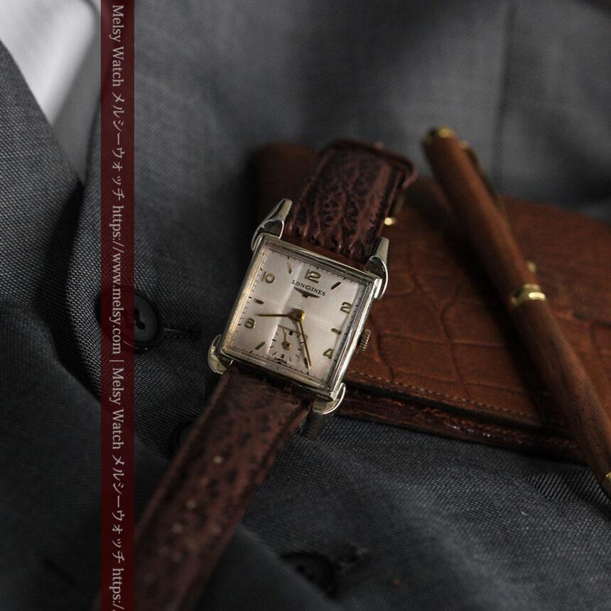 ロンジン 大人の遊び心を擽るアンティーク腕時計 【1952年製】箱付き-W1505-11