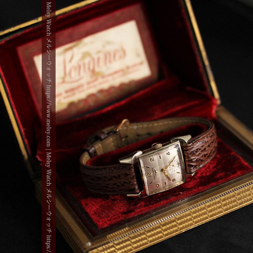 ロンジン 大人の遊び心を擽るアンティーク腕時計 【1952年製】箱付き-W1505-12