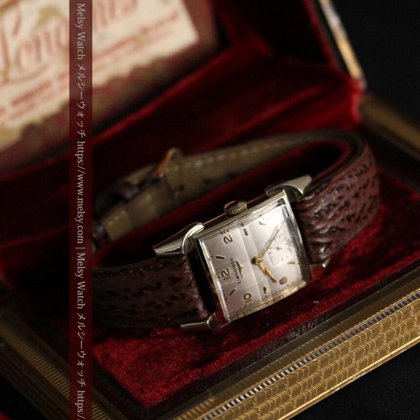 ロンジン 大人の遊び心を擽るアンティーク腕時計 【1952年製】箱付き-W1505-13