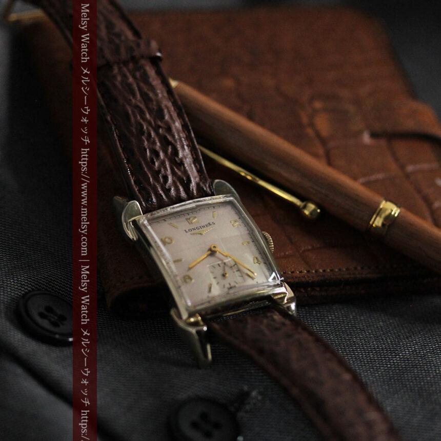 ロンジン 大人の遊び心を擽るアンティーク腕時計 【1952年製】箱付き-W1505-2
