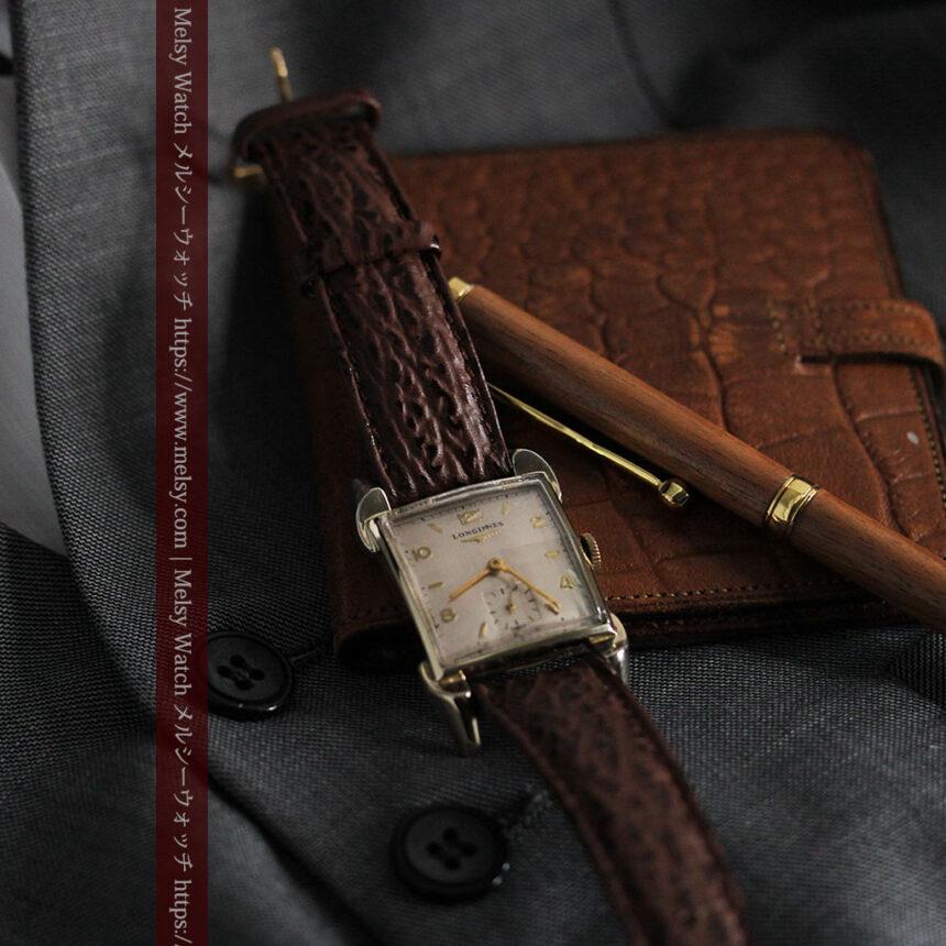 ロンジン 大人の遊び心を擽るアンティーク腕時計 【1952年製】箱付き-W1505-3
