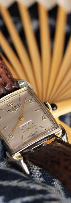 ロンジン 大人の遊び心を擽るアンティーク腕時計 【1952年製】箱付き-W1505-4