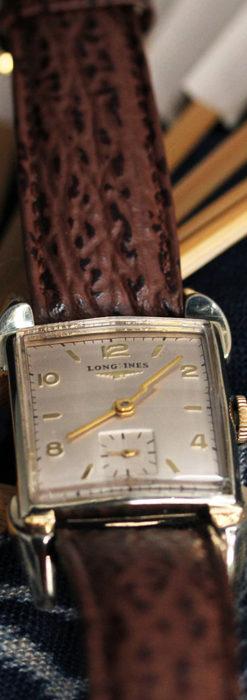 ロンジン 大人の遊び心を擽るアンティーク腕時計 【1952年製】箱付き-W1505-6