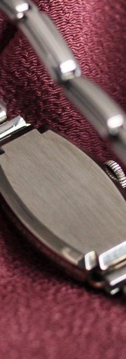ウォルサムの上品な楕円形の女性用アンティーク腕時計 【1931年製】箱付き-W1507-12