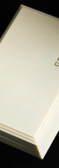 グリュエン アンティーク腕時計 カーブ&黒文字盤 【1937年頃】箱付き-W1508-21