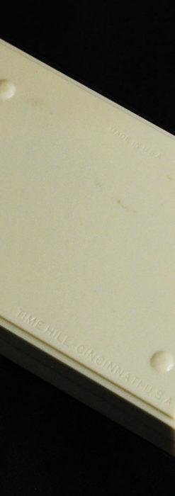 グリュエン アンティーク腕時計 カーブ&黒文字盤 【1937年頃】箱付き-W1508-22