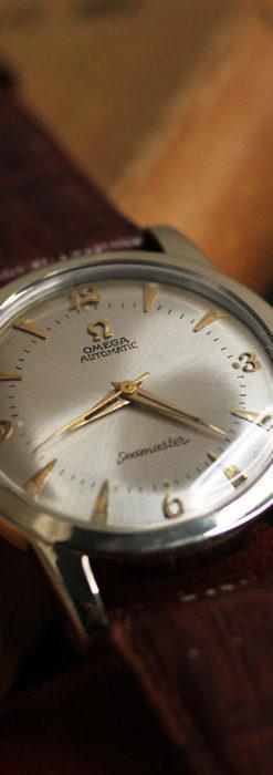 オメガのシーマスター 自動巻きアンティーク腕時計 【1953年製】-W1514-1