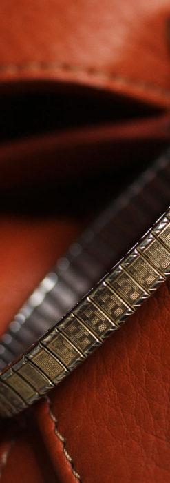 ジラールペルゴのコッパー色の上品な金無垢女性用アンティーク腕時計 【1940年頃】-W1515-13