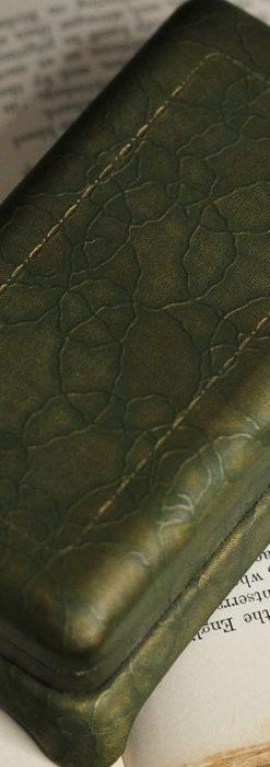昭和初期の深みあるウォルサムの女性用アンティーク腕時計 【1934年製】箱付き-W1516-11