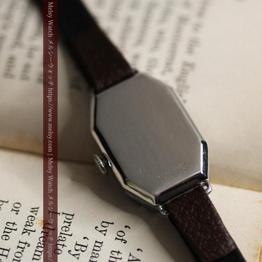 昭和初期の深みあるウォルサムの女性用アンティーク腕時計 【1934年製】箱付き-W1516-12
