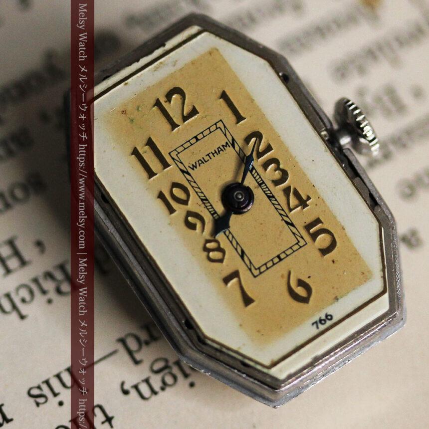 昭和初期の深みあるウォルサムの女性用アンティーク腕時計 【1934年製】箱付き-W1516-13