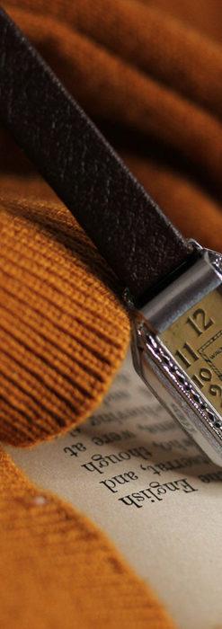 昭和初期の深みあるウォルサムの女性用アンティーク腕時計 【1934年製】箱付き-W1516-5
