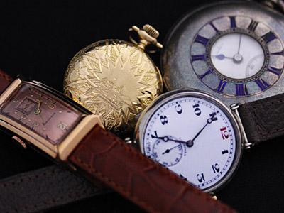 いろいろなアンティーク時計