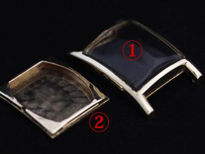 腕時計の2ピースケース