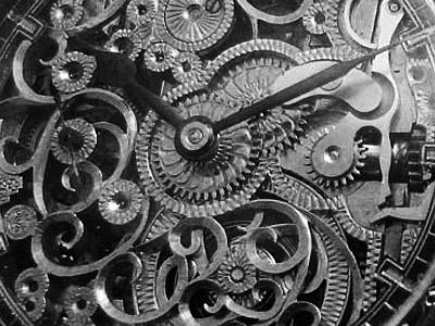 改造時計の特徴的な文字盤
