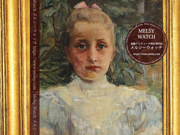 大森安仁子の1898年作の絵画