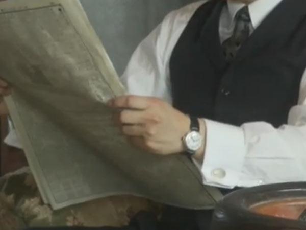 大河ドラマいだてんで三島弥太郎を演じる小澤征悦の腕時計