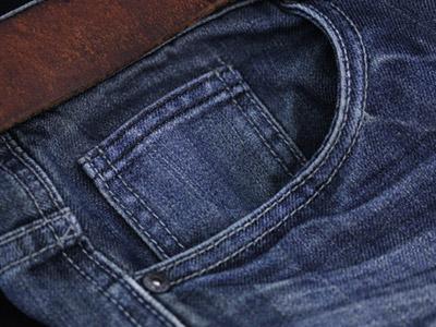 ジーンズの小さなポケット