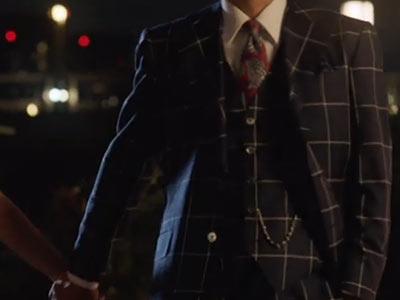 フジテレビのドラマ・ルパンの娘で三雲尊を演じる渡部篤郎の懐中時計チェーン