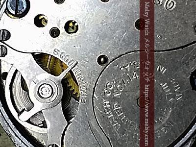 ミッキーマウス腕時計の機械