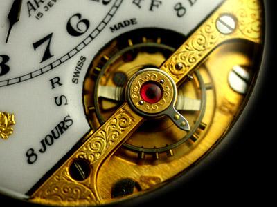 8日巻き時計