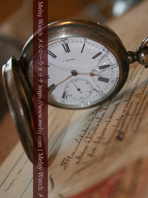 ひび割れた懐中時計