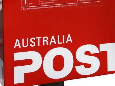郵便局-オーストラリア