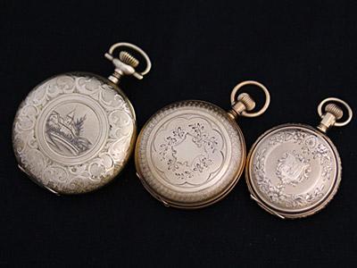 懐中時計の大きさの分類