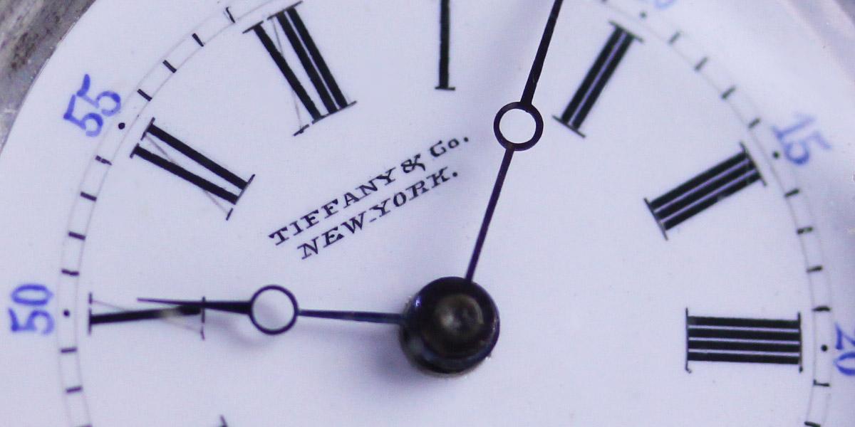 ティファニーの懐中時計