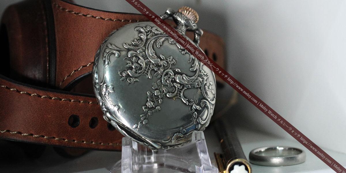 飾っても様になる懐中時計