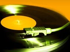 アナログのレコード盤