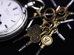 鍵巻き式懐中時計