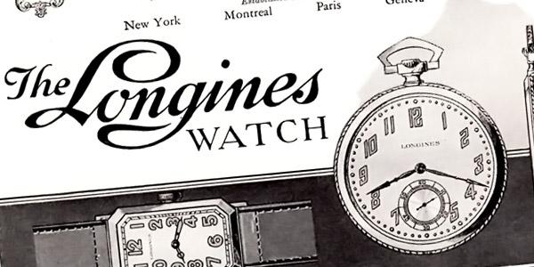 ロンジンの古い広告