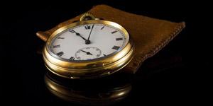 雰囲気のある懐中時計