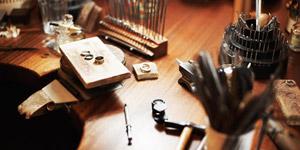 ジュエリー加工の道具類