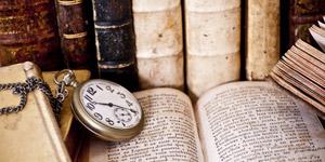 懐中時計と辞書